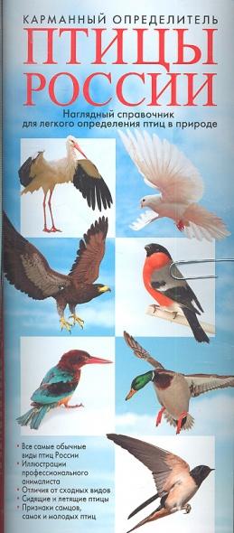 Карманный определитель. Птицы России. Наглядный справочник для легкого определения птиц в природе
