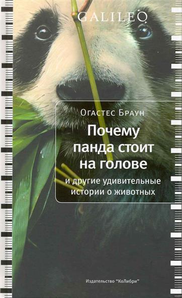 Почему панда стоит на голове...