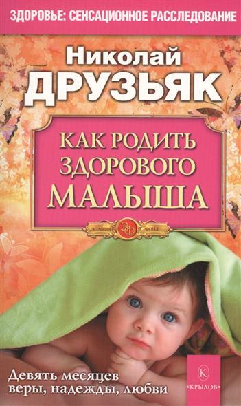 Как родить здорового малыша. Девять месяцев веры, надежды, любви