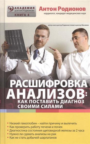Расшифровка анализов: как поставить диагноз своими силами