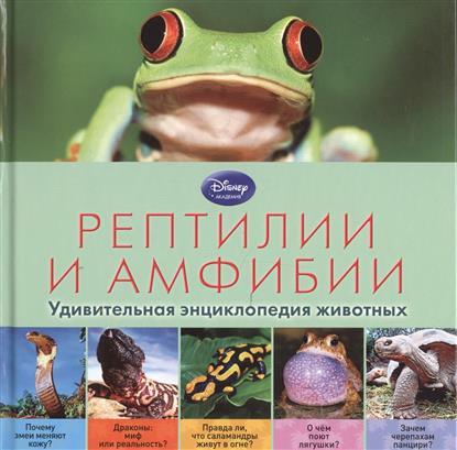 Рептилии и амфибии. Удивительная энциклопедия животных