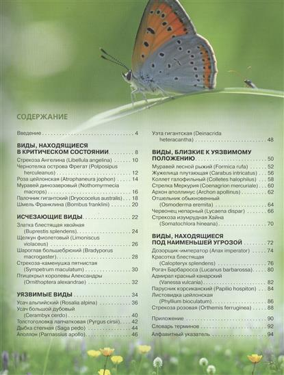 Красная книга: бабочки, жуки и другие насекомые