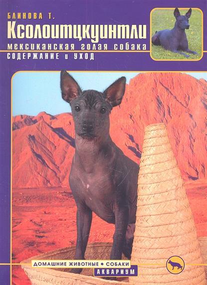 Ксолоитцкуинтли (мексиканская голая собака). Содержание и уход