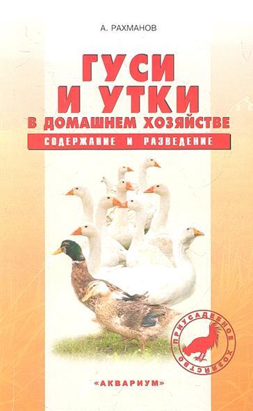 Гуси и утки в домашнем хозяйстве. Содержание и разведение