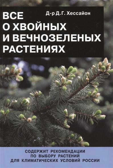 Все о хвойных и вечнозеленых растениях
