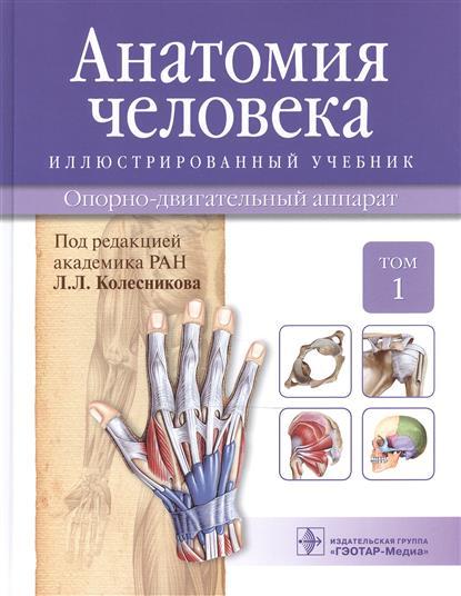 Анатомия человека. Учебник: Том 1. Опорно-двигательный аппарат
