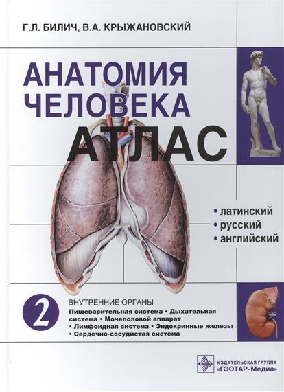 Анатомия человека. Атлас: Том 2. Внутренние органы