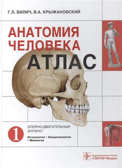 Анатомия человека. Атлас: Том 1. Опорно-двигательный аппарат